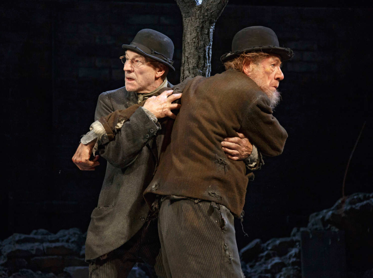 reviews waiting for godot and no man s land vulture