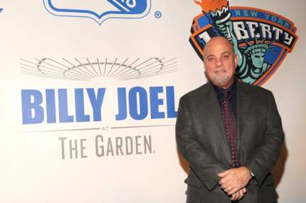 NEW YORK, NY - DECEMBER 03:  Madison Square Garden announces Billy Joel as their first-ever music franchise and adds May 9th show with exclusive pre-sale for Citi customers at Madison Square Garden on December 3, 2013 in New York City.  (Photo by Kevin Mazur/WireImage)