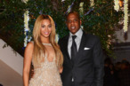 """NEW YORK, NY - FEBRUARY 12:  (EXCLUSIVE COVERAGE) Beyonce and Jay-Z attend the after party following the premiere of the  HBO Documentary Film """"Beyonce: Life Is But A Dream"""" at Christie's on February 12, 2013 in New York City.  (Photo by Larry Busacca/Getty Images for Parkwood Entertainment)"""