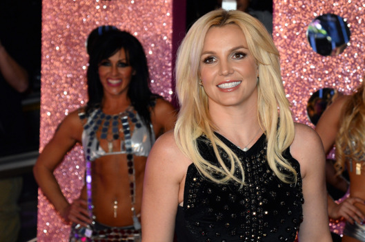 "LAS VEGAS, NV - DECEMBER 03:  Singer Britney Spears arrives at a welcome ceremony as she celebrates the release of her new album ""Britney Jean"" and prepares for her two-year residency at Planet Hollywood Resort & Casino on December 3, 2013 in Las Vegas, Nevada. Spears' show ""Britney: Piece of Me"" will debut at the resort on December 27, 2013.  (Photo by Ethan Miller/Getty Images)"