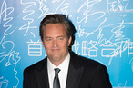 MACAU - OCTOBER 07:   Actor Mathew Perry poses on the red carpet during the 2013 Huading Awards Ceremony at The Venetian on October 7, 2013 in Macau, Macau.  (Photo by Lam Yik Fei/Getty Images for Global Talents Media Group)