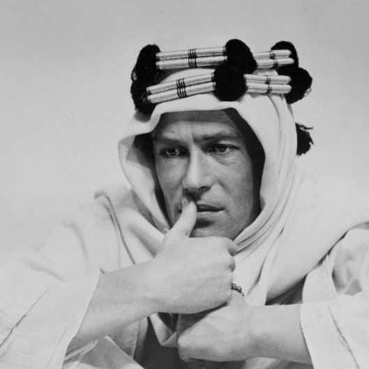 "FILE - In this undated photo Actor Peter O'Toole is from his movie ""Lawrence of Arabia.""  O'Toole, the charismatic actor who achieved instant stardom as Lawrence of Arabia and was nominated eight times for an Academy Award, has died. He was 81. O'Toole's agent Steve Kenis says the actor died Saturday, Dec. 14, 2013 at a hospital following a long illness. (AP Photo/File)"