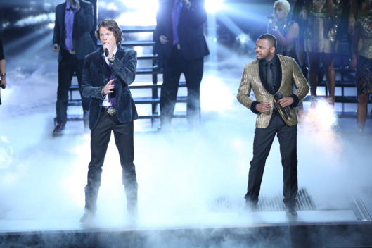 THE SING OFF -- Episode 407 -- Pictured: (l-r) Home Free, Ten -- (Photo by: Tyler Golden/NBC)