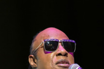 LOS ANGELES, CA - OCTOBER 29:  Singer  Stevie Wonder holds press conference and performs for the 18th annual House Full of Toys Benefit Concert at Club Nokia on October 29, 2013 in Los Angeles, California.  (Photo by Rodrigo Vaz/FilmMagic)