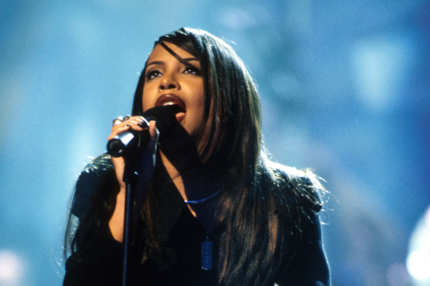 Aaliyah (Photo by Kevin Mazur/WireImage)