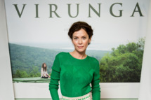 "LONDON, ENGLAND - OCTOBER 14: Anna Friel attends a screening of ""Virunga"", a short film about Africa's oldest national park and its wildlife at BFI IMAX on October 14, 2013 in London, England.  (Photo by Ian Gavan/Getty Images)"