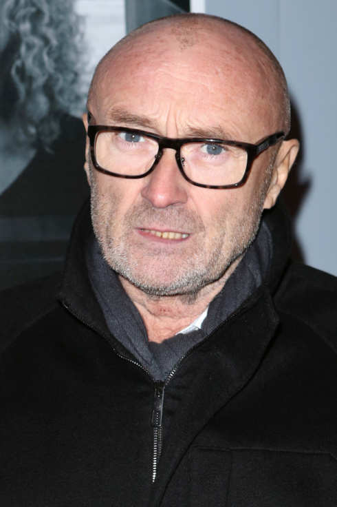"Phil Collins attends ""Beautiful - The Carole King Musical"" Broadway Opening Nigh at Stephen Sondheim Theatre on January 12, 2014 in New York City."