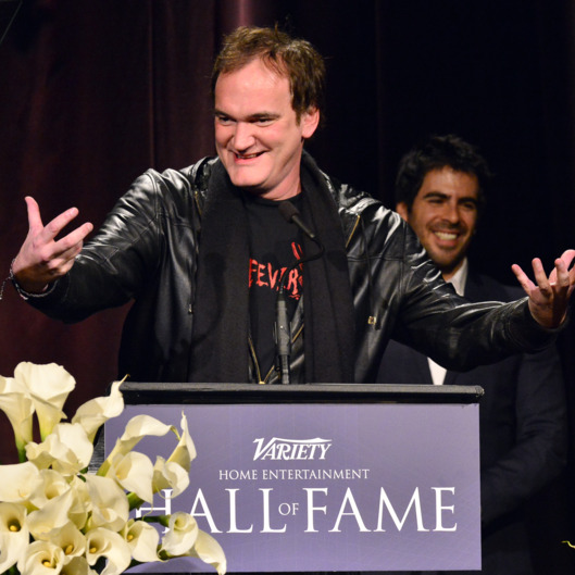 LOS ANGELES, CA - DECEMBER 10:  Director/Producer Quentin Tarantino attends the 33rd annual Variety Home Entertainment Hall of Fame on December 10, 2013 in Los Angeles, California.  (Photo by Jerod Harris/Getty Images for Variety)