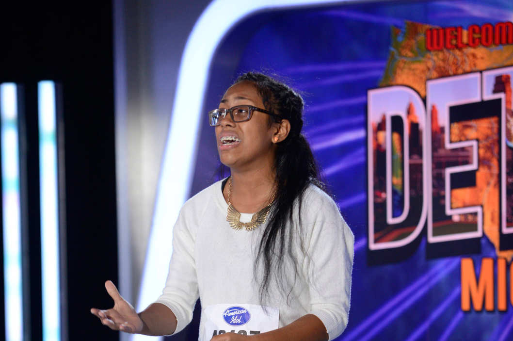AMERICAN IDOL XIII: Detroit Auditions: Contestant Malaya Watson auditions in front of the judges on AMERICAN IDOL XIII airing Wednesday, Jan. 22 (8:00-10:00 PM ET/PT) on FOX.