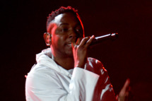 Kendrick Lamar performs at the 56th Grammy Awards at the Staples Center in Los Angeles, California, January 26, 2014.