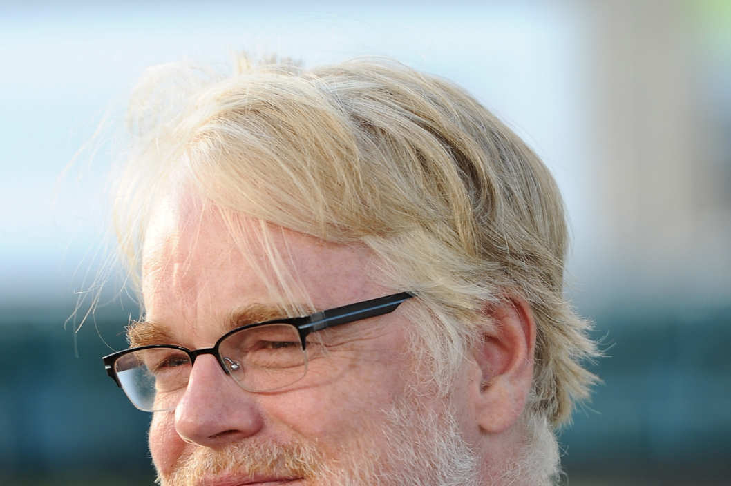 "OAKLAND, CA - SEPTEMBER 19:  Actor Phillip Seymour Hoffman arrives at the premiere of Columbia Pictures' ""Moneyball"" at the Paramount Theatre of the Arts on September 19, 2011 in Oakland, California.  (Photo by Michael Buckner/Getty Images)"