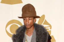 "LOS ANGELES, CA - JANUARY 27:  Recording artist Pharrell Williams attends ""The Night That Changed America: A GRAMMY Salute To The Beatles"" at the Los Angeles Convention Center on January 27, 2014 in Los Angeles, California.  (Photo by Frazer Harrison/Getty Images)"