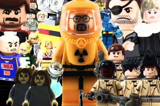 See Some Custom-Made LEGO Movie and TV Sets -- Vulture Lego Batman 2 Sets
