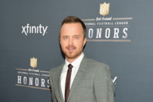 NEW YORK, NY - FEBRUARY 01:  Actor Aaron Paul attends the 3rd Annual NFL Honors at Radio City Music Hall on February 1, 2014 in New York City.  (Photo by Slaven Vlasic/Getty Images)
