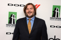 BEVERLY HILLS, CA - OCTOBER 21:  Actor Jack Black poses in the press room during the 17th annual Hollywood Film Awards at The Beverly Hilton Hotel on October 21, 2013 in Beverly Hills, California.  (Photo by Jason Kempin/Getty Images)
