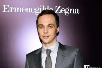 BEVERLY HILLS, CA - NOVEMBER 07: Actor Jim Parsons arrives for the Ermenegildo Zegna Global Store Opening hosted by Gildo Zegna and Stefano Pilati at Ermenegildo Zegna Boutique on November 7, 2013 in Beverly Hills, California..  (Photo by Kevork Djansezian/Getty Images)