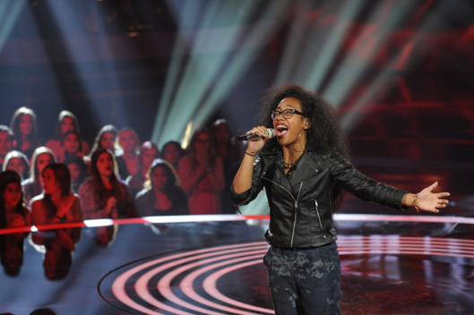 AMERICAN IDOL XIII: Malaya Watson performs in front of the judges on Tuesday, Feb. 18