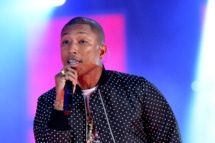 NEW ORLEANS, LA - FEBRUARY 16:  Musician Pharrell Williams performs onstage at the 63rd NBA All-Star Game 2014 at the Smoothie King Center on February 16, 2014 in New Orleans, Louisiana.  (Photo by Mike Coppola/Getty Images)