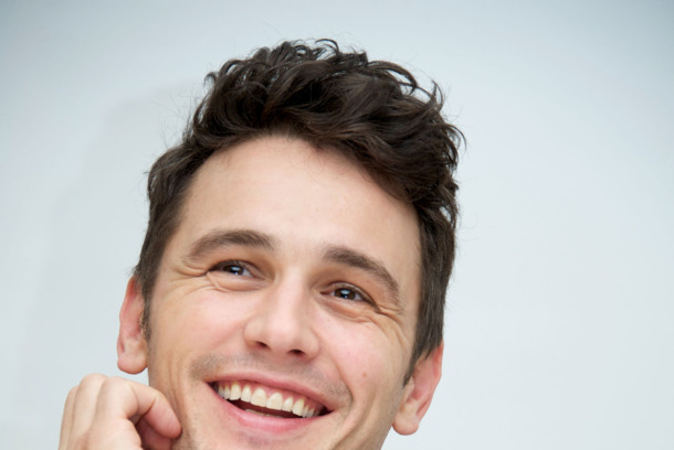 "BEVERLY HILLS, CA - NOVEMBER 17:  James Franco at the ""Homefront"" Press Conference at the Four Seasons Hotel on November 17, 2013 in Beverly Hills City.  (Photo by Vera Anderson/WireImage)"