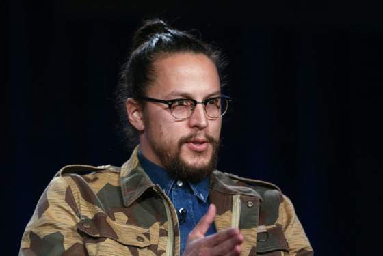 PASADENA, CA - JANUARY 09:  Executive Producer/Director Cary Fukunaga speaks onstage during the 'True Detective' panel discussion at the HBO portion of the 2014  Winter Television Critics Association tour at the Langham Hotel on January 9, 2014 in Pasadena, California.  (Photo by Frederick M. Brown/Getty Images)