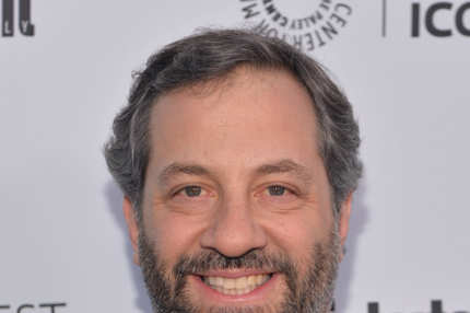 BEVERLY HILLS, CA - MARCH 10:  Writer Judd Apatow attends The Paley Center For Media's 2014 PaleyFest Icon Award announcement at The Paley Center for Media on March 10, 2014 in Beverly Hills, California.  (Photo by Alberto E. Rodriguez/Getty Images)