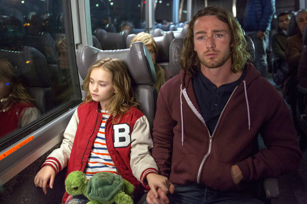 "BELIEVE -- ""Pilot"" -- Pictured: (l-r) Johnny Sequoyah as Bo, Jake McLaughlin as Tate ."