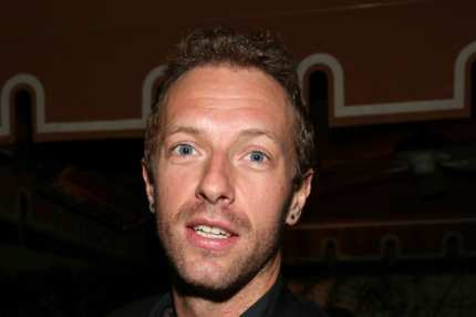 LOS ANGELES, CA - JANUARY 26:  Recording artist Chris Martin attends the Warner Music Group annual GRAMMY celebration on January 26, 2014 in Los Angeles, California.  (Photo by Imeh Akpanudosen/Getty Images for Warner Bros.)