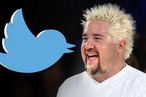 When Guy Fieri tweets that you should hold on, you hold on.