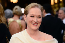 "Nominee for Best Actress in ""August: Osage County"" Meryl Streep arrives on the red carpet at the 86th Academy Awards on March 2nd, 2014 in Hollywood, California."