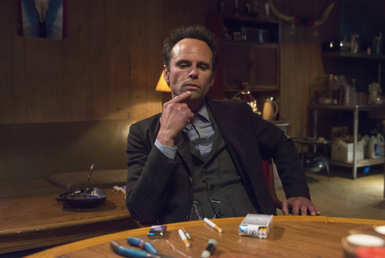 "JUSTIFIED -- ""The Toll"" -- Episode 511 (Airs Tuesday, March 25, 10:00 pm e/p -- Pictured: Walton Goggins as Boyd Crowder -- CR: Prashant Gupta/FX"