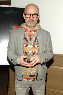 Michael Stipe==New York special screening of UNDER THE SKIN==Crosby Street Hotel, NYC==April 3, 2014==©Patrick McMullan==Photo - Paul Bruinooge/PatrickMcMullan.com====