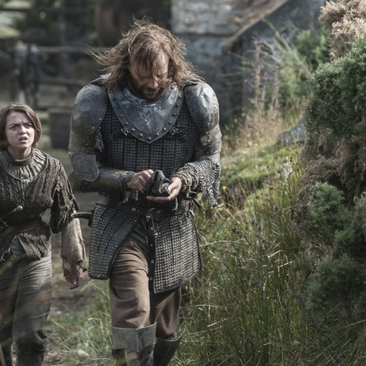Maisie Williams, Rory McCann.