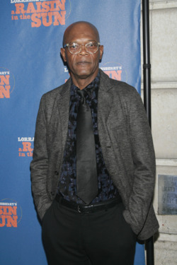 "Samuel L. Jackson==Opening Night Arrivals for ""A Raisin in the Sun""==Ethel Barrymore Theatre, NYC.==April 03, 2014==©Patrick Mcmullan==photo-Sylvain Gaboury/PatrickMcmullan.com===="