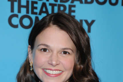 NEW YORK, NY - MARCH 10:  Sutton Foster attends Roundabout Theatre Company's 2014 Spring Gala at Hammerstein Ballroom on March 10, 2014 in New York City.  (Photo by Ilya S. Savenok/Getty Images)