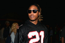 Rapper Future attends day 1 of the 2014 Coachella Valley Music & Arts Festival at the Empire Polo Club on April 11, 2014 in Indio, California.