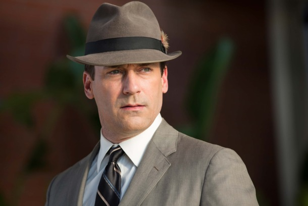 Jon Hamm as Don Draper - Mad Men _ Season 7, Episode 1 - Photo Credit: Michael Yarish/AMC