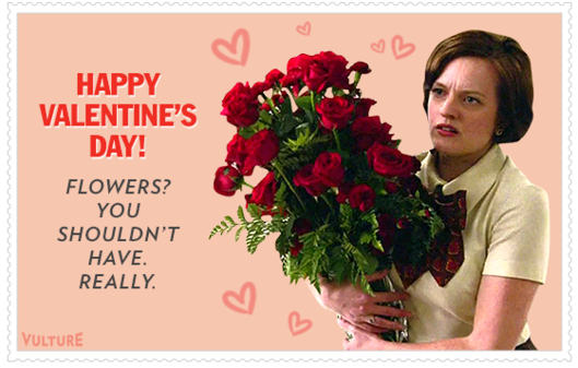 See Our Mad Men Valentines Day Card Recaps Vulture – Romantic Valentine Day Cards
