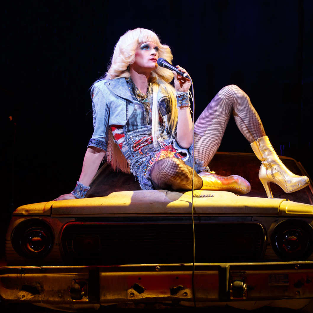 Hedwig & the Angry Inch Belasco Theatre  Cast List: Neil Patrick Harris Lena Hall Justin Craig Matt Duncan Tim Mislock Peter Yanowitz  Production Credits: Michael Mayer (Direction) Spencer Liff (Musical Staging) Julian Crouch (Scenic Design)  Arianne Phillips (Costume Design)  Kevin Adams (Lighting Design)  Timothy O'Heir (Sound Design)  Ethan Popp (Music Supervision)   Other Credits: Lyrics by: Stephen Trask Music by: Stephen Trask Book by: John Cameron Mitchell