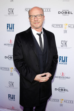 "NEW YORK, NY - APRIL 24:  Paul Haggis attends the ""Third Person"" Film Pre-Premiere Party At Supper Suite By STK Hosted With Fiji Water And Dobel Tequila  on April 24, 2014 in New York City.  (Photo by Thomas Concordia/WireImage)"