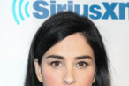 "NEW YORK, NY - JANUARY 31:  Sarah Silverman attends SiriusXM's ""Howard Stern Birthday Bash"" at Hammerstein Ballroom on January 31, 2014 in New York City.  (Photo by Rob Kim/Getty Images)"
