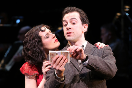 Jennifer Bowles, Rob McClure in Irma La Douce.
