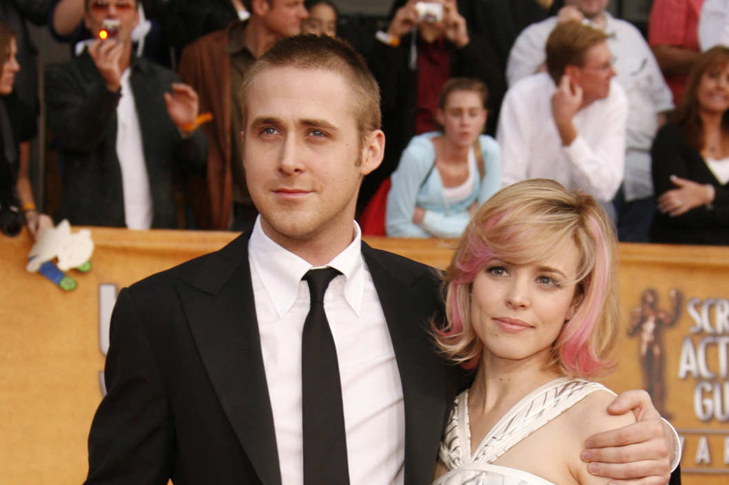 Ryan Gosling and Rachel McAdams (Photo by Jeff Vespa/WireImage)