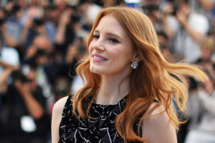 "US actress Jessica Chastain poses during a photocall for the film ""The Disappearance of Eleanor Rigby"" at the 67th edition of the Cannes Film Festival in Cannes, southern France, on May 18, 2014."