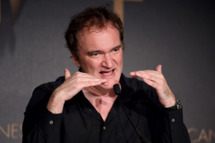 Director Quentin Tarantino speaks at a press conference during the 67th Annual Cannes Film Festival on May 23, 2014 in Cannes, France.