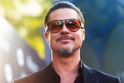"Actor Brad Pitt attends the World Premiere of Disney's ""Maleficent"", starring Angelina Jolie, at the El Capitan Theatre on May 28, 2014 in Hollywood, California."