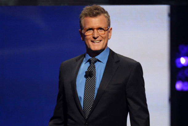 FOX 2014 PROGRAMMING PRESENTATION: Fox Chairman of Entertainment Kevin Reilly announcing FOX's new primetime schedule on Monday, May 12, 2014 at The Beacon Theatre in New York, NY. (Photo by FOX via Getty Images)