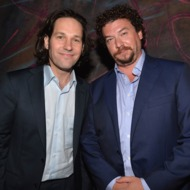 Actors Paul Rudd and Danny McBride attend the after party for Columbia Pictures' 'This Is The End' premiere at W Hotel Westwood on June 3, 2013 in Westwood, California.