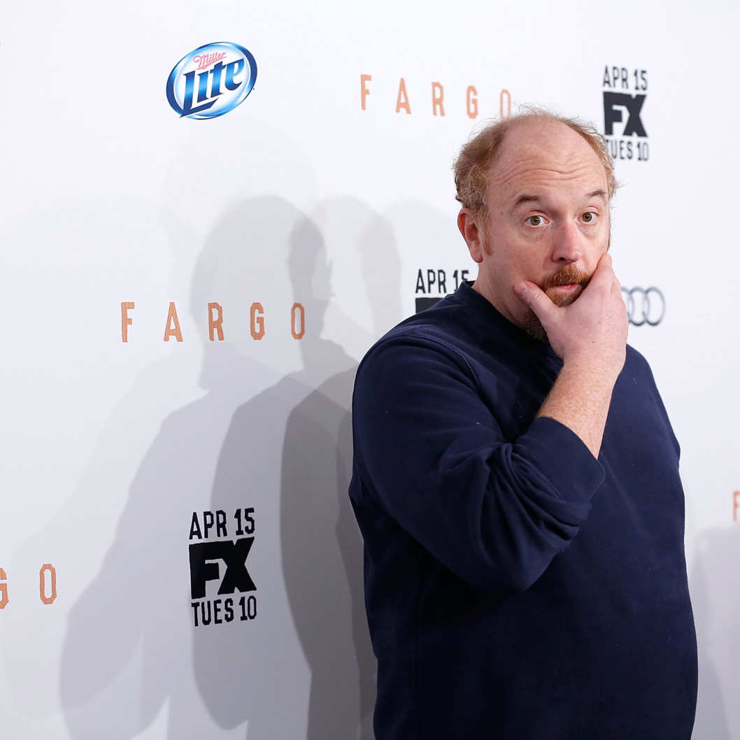 "Comedian Louis C.K. attends the FX Networks Upfront screening of ""Fargo"" at SVA Theater on April 9, 2014 in New York City."
