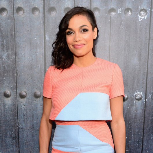 "CULVER CITY, CA - JUNE 07:  Actress Rosario Dawson attends Spike TV's ""Guys Choice 2014"" at Sony Pictures Studios on June 7, 2014 in Culver City, California.  (Photo by Frazer Harrison/Getty Images for Spike TV)"
