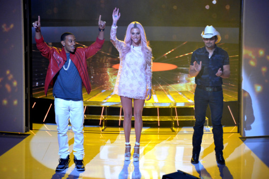 "RISING STAR - ABC's ""Rising Star"" premiered Sunday, June 22 (9:00-11:00 pm ET/PT). (ABC/Eric McCandless)LUDACRIS, KESHA, BRAD PAISLEY"